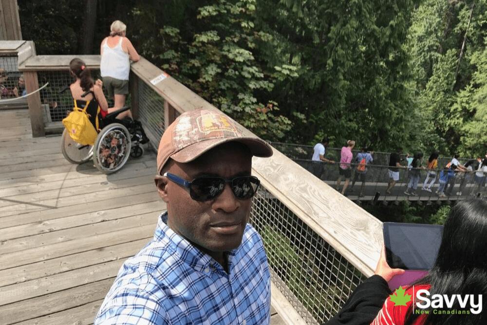 Capilano Suspension Bridge British Columbia