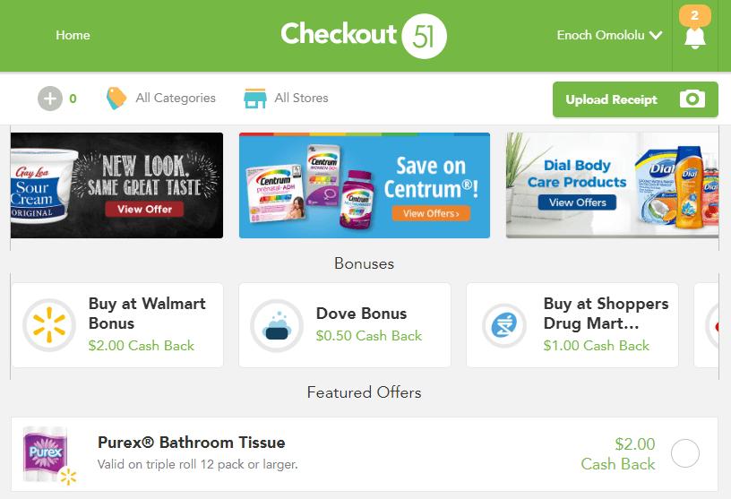 Checkout 51 sign up bonus
