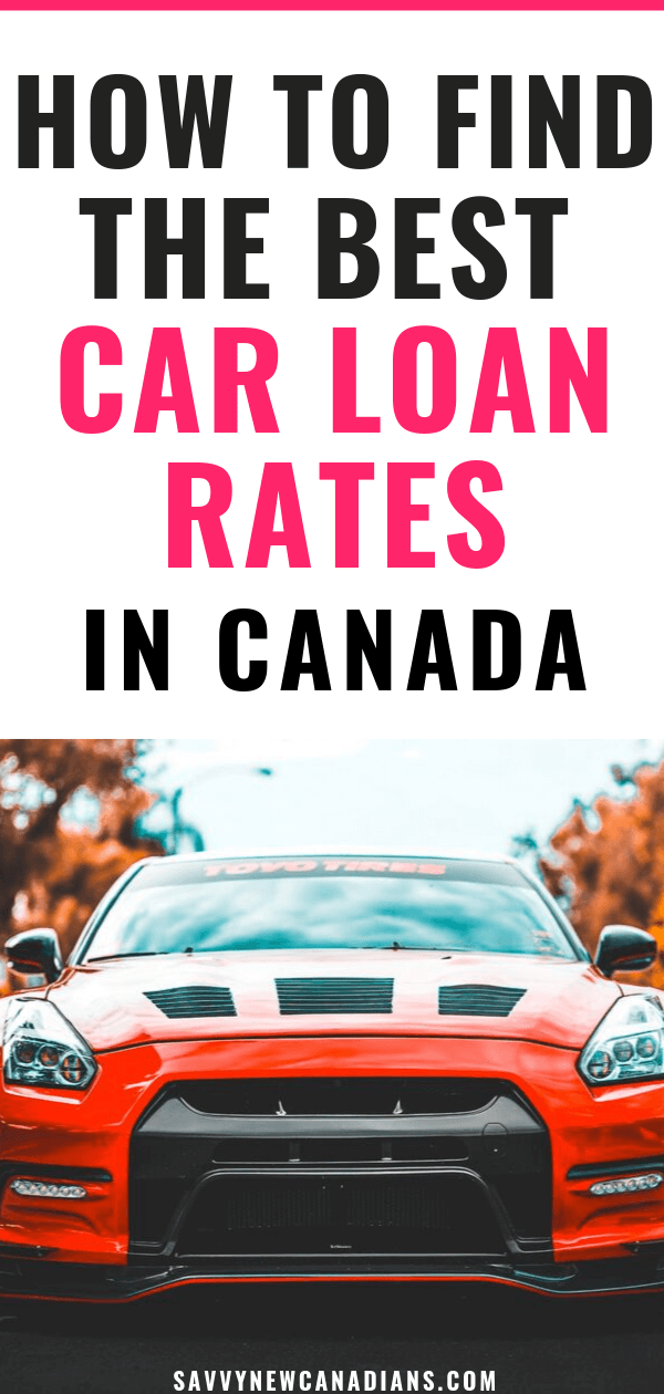 Car Loans Canada: Find The Best Auto Financing Rates