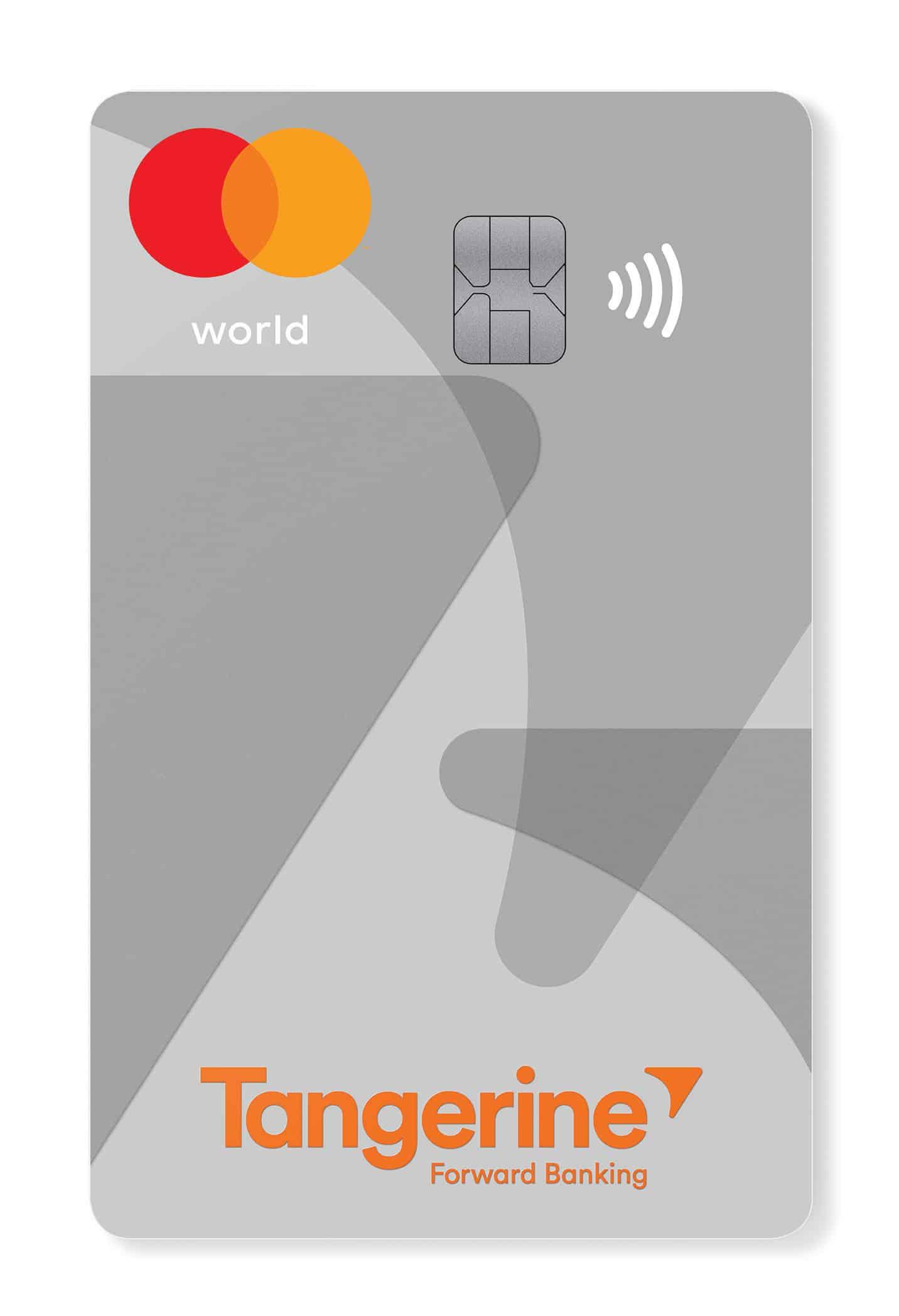 Tangerine World Mastercard.