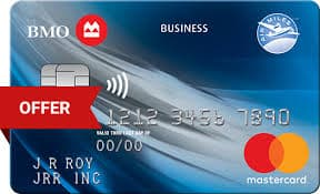 BMO Air Miles No-Fee Business Mastercard