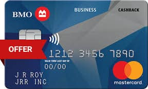 BMO Cash Back Business Mastercard