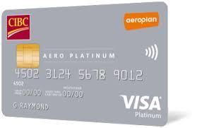 CIBC Aero Platinum Visa