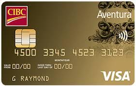 CIBC US Dollar Aventura Gold Visa
