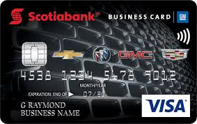 Scotiabank GM Business Visa card