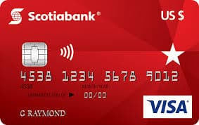 Scotiabank US dollar Visa Card