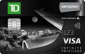 TD Aeroplan Visa Infinite Privilege