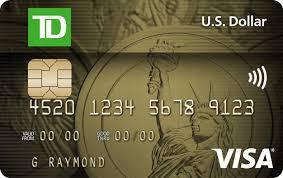 TD US Dollar Visa Card