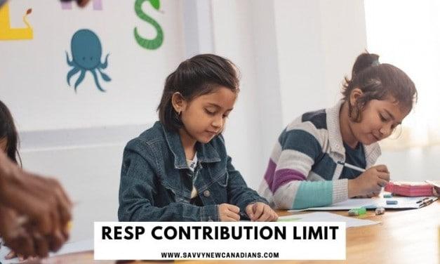 RESP Contribution Limit for 2020