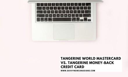 Tangerine World Mastercard vs. Tangerine Money-Back Credit Card