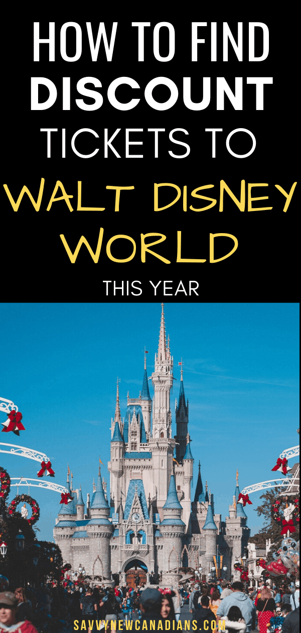 How To Get Discounted Walt Disney World Tickets in Canada