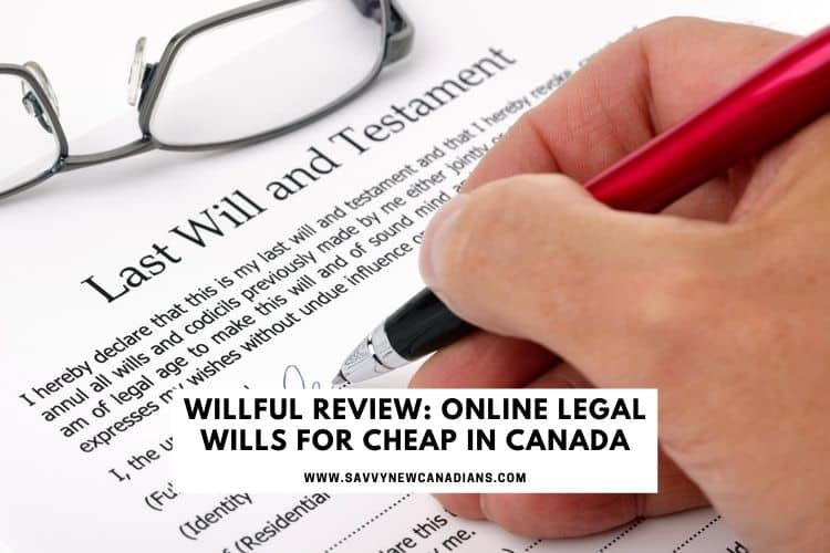 willful wills - cheap online will kit canada