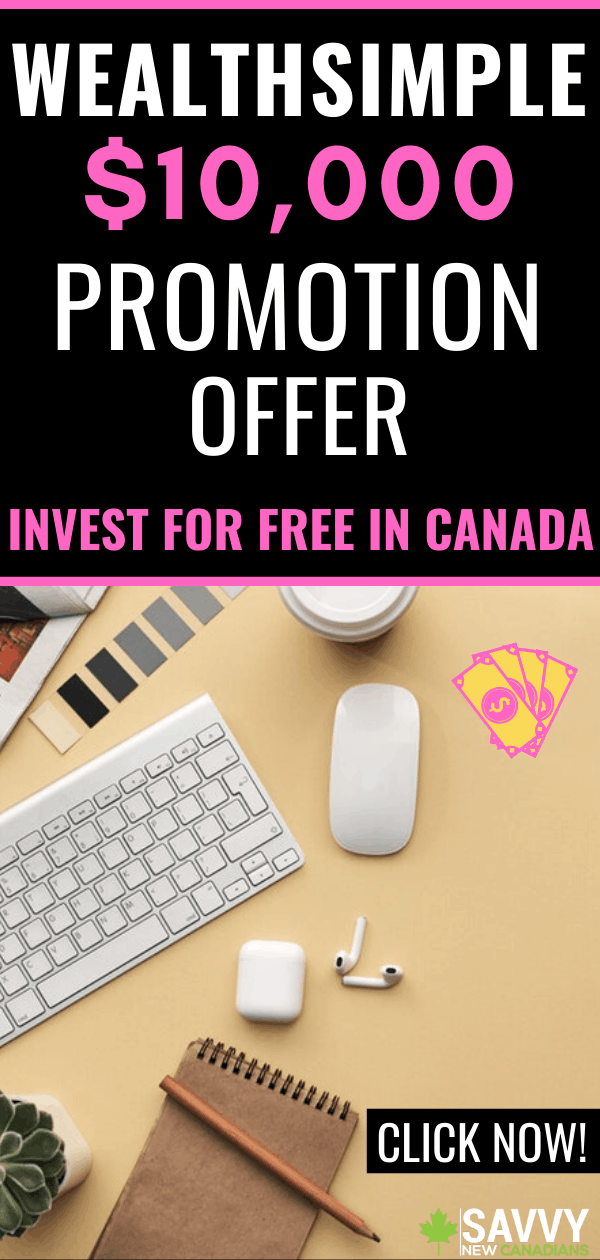 Wealthsimple $50 Cash Bonus Promotion Offer – Invest For Cheap in Canada