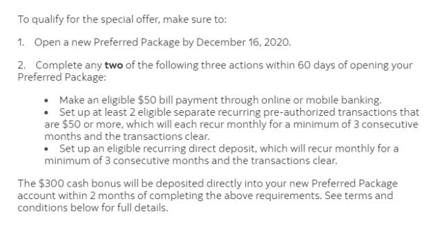 Scotiabank Preferred Package signup bonus