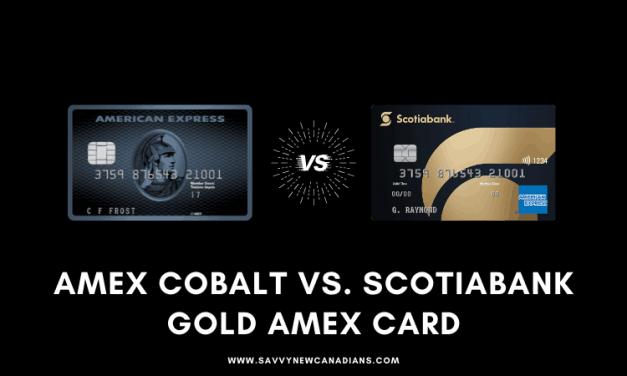 American Express Cobalt vs. Scotiabank Gold American Express Card: 2020 Comparison