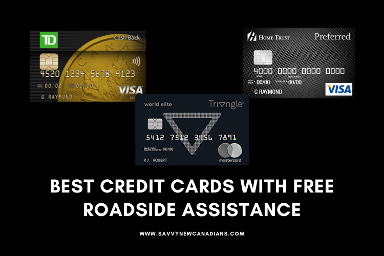 best credit cards with free roadside assistance in canada
