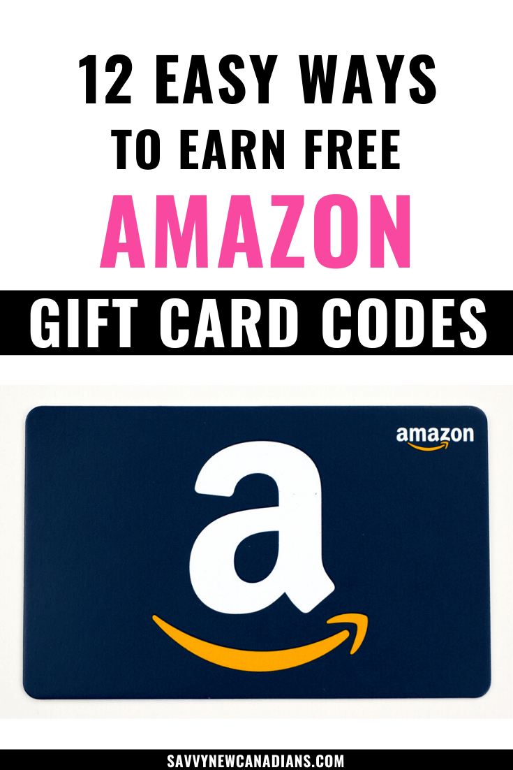 12 Easy Ways To Earn Free Amazon Gift Card Codes in 2020