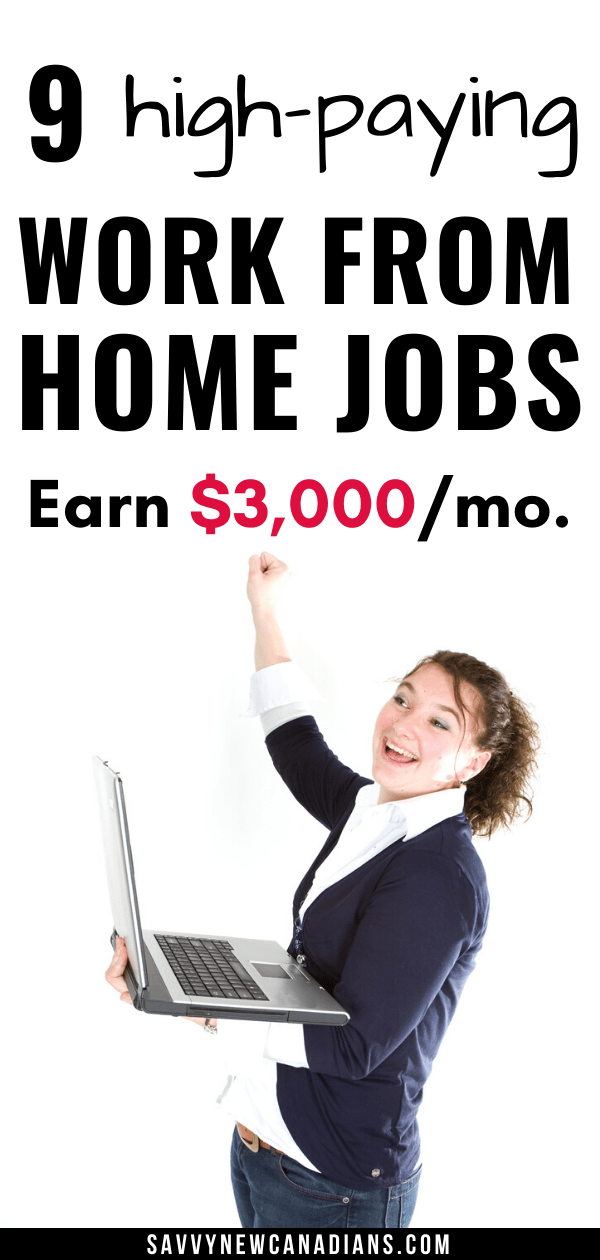 Best Work From Home Jobs in Canada for 2021