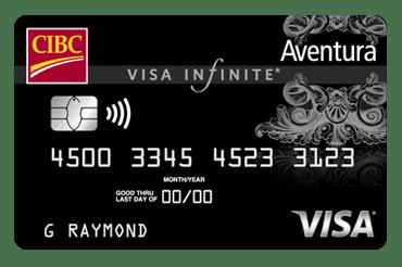 CIBC Aventura Visa Infinite Card.