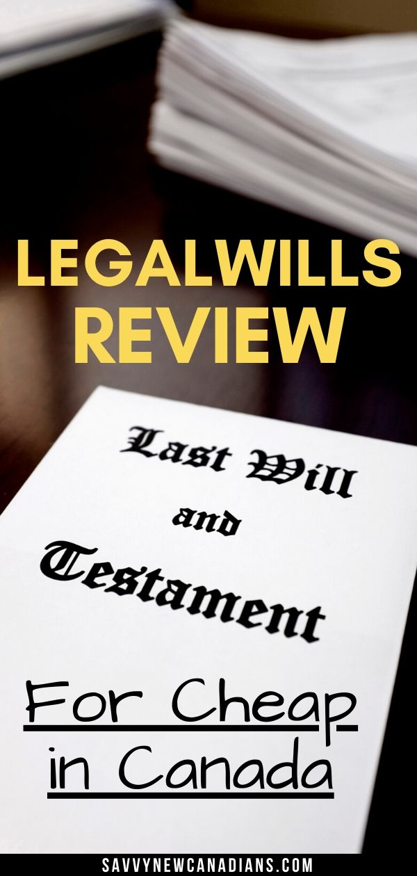 LegalWills.ca Review