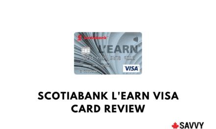 Scotiabank L'earn Visa Card Review