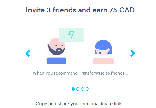 TransferWise Refer a Friend