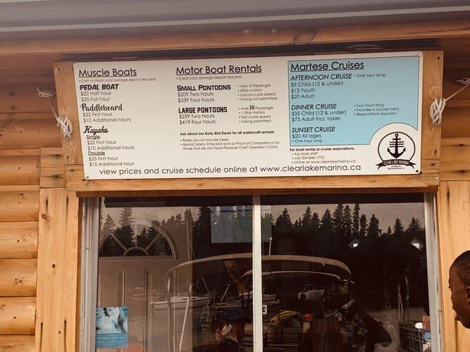 Clear Lake Marina - rentals and cruises