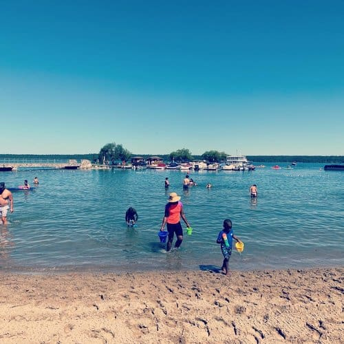 Clear lake Beach RMNP
