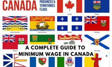 Minimum Wage in Canada by Province (2021)