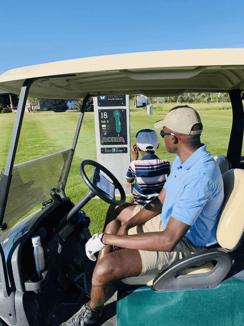 Poplar Ridge Golf Course Hole 18
