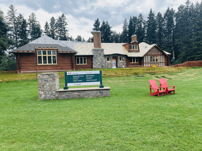 Visitor Centre at Riding Mountain National Park