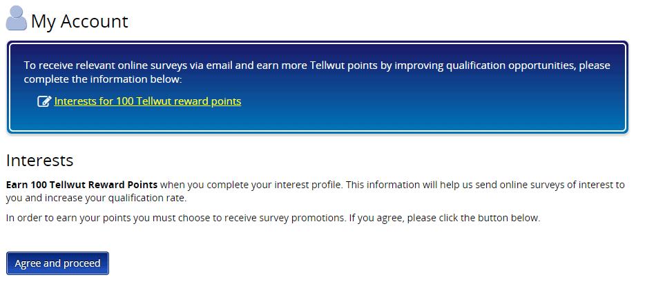 Tellwut Surveys