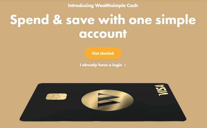 Wealthsimple Cash account