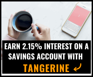 Tangerine Bank Savings
