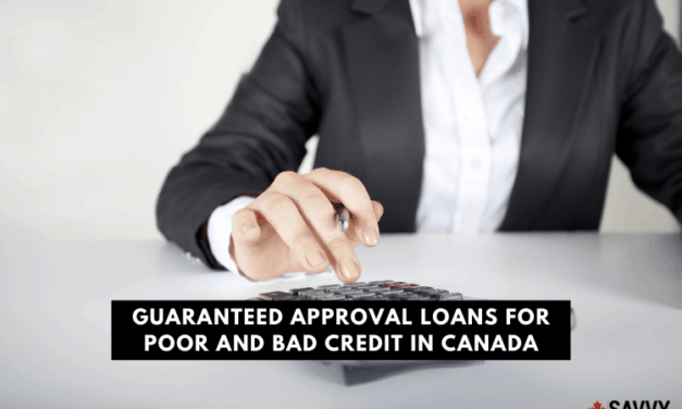 Guaranteed Approval Loans for Poor and Bad Credit in Canada