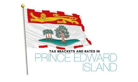 Prince Edward Island Income Tax Rates and Brackets