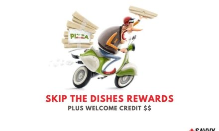 SkipTheDishes Rewards: Earn Points When You Order Food + $5 Bonus