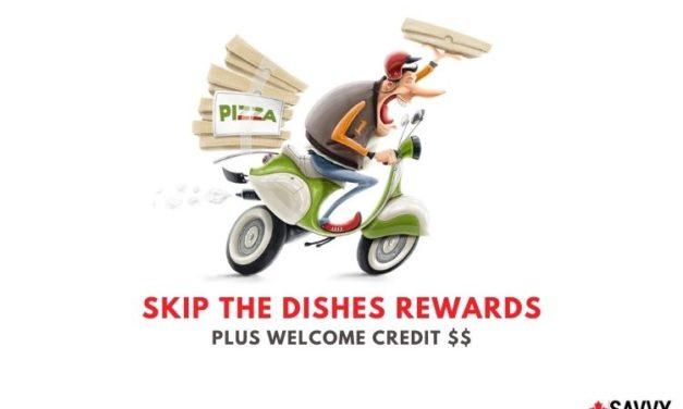 SkipTheDishes Rewards: Earn Points When You Order Food + $5 Bonus