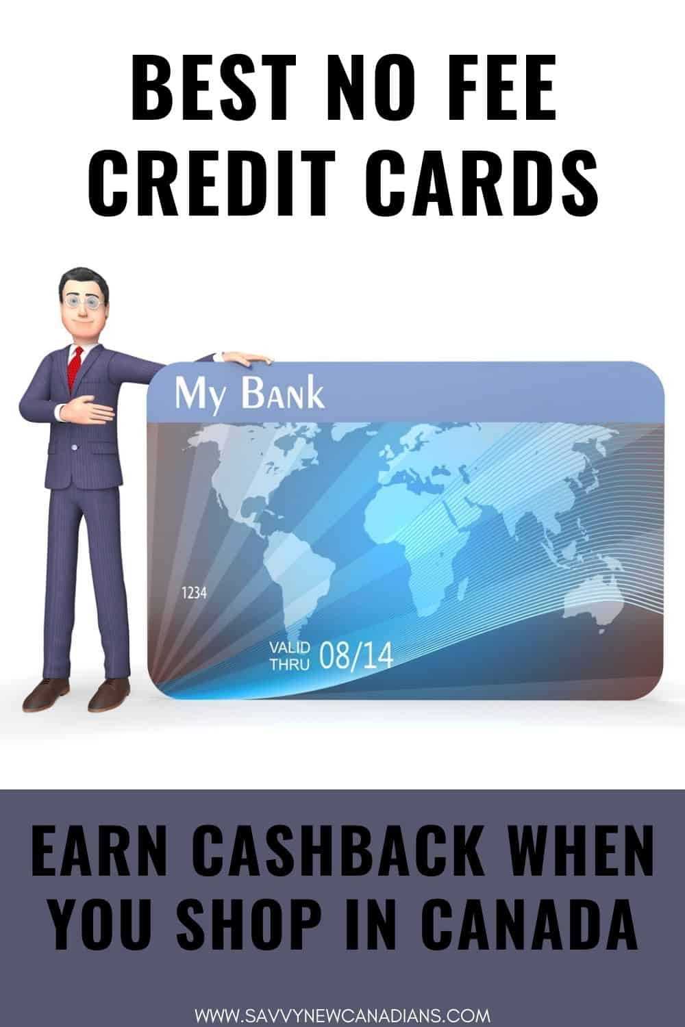 Best No Fee Credit Cards in Canada for 2021