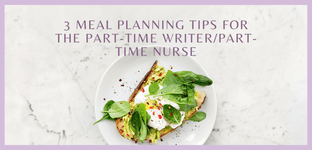3 Meal Planning Tips