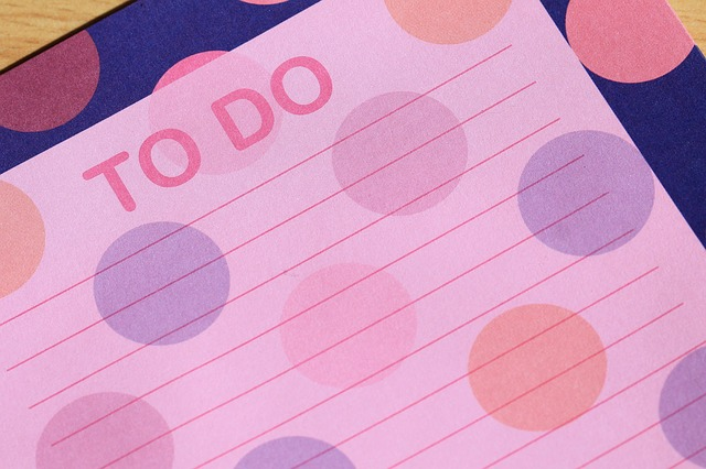 colorful To-Do List