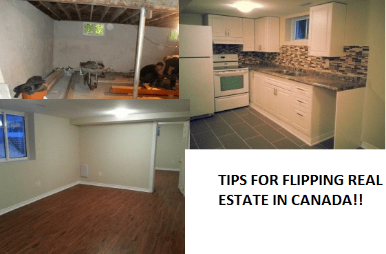 Flipping Real Estate Canada