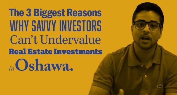 real estate investment oshawa
