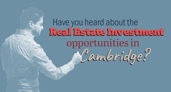 real estate investment cambridge