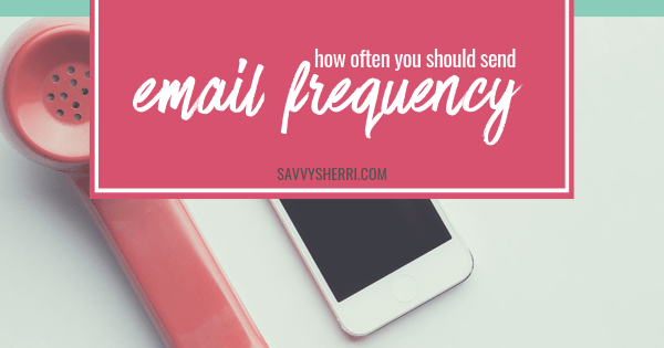 How often should you send emails