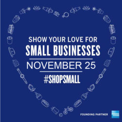 small business saturday social graphic