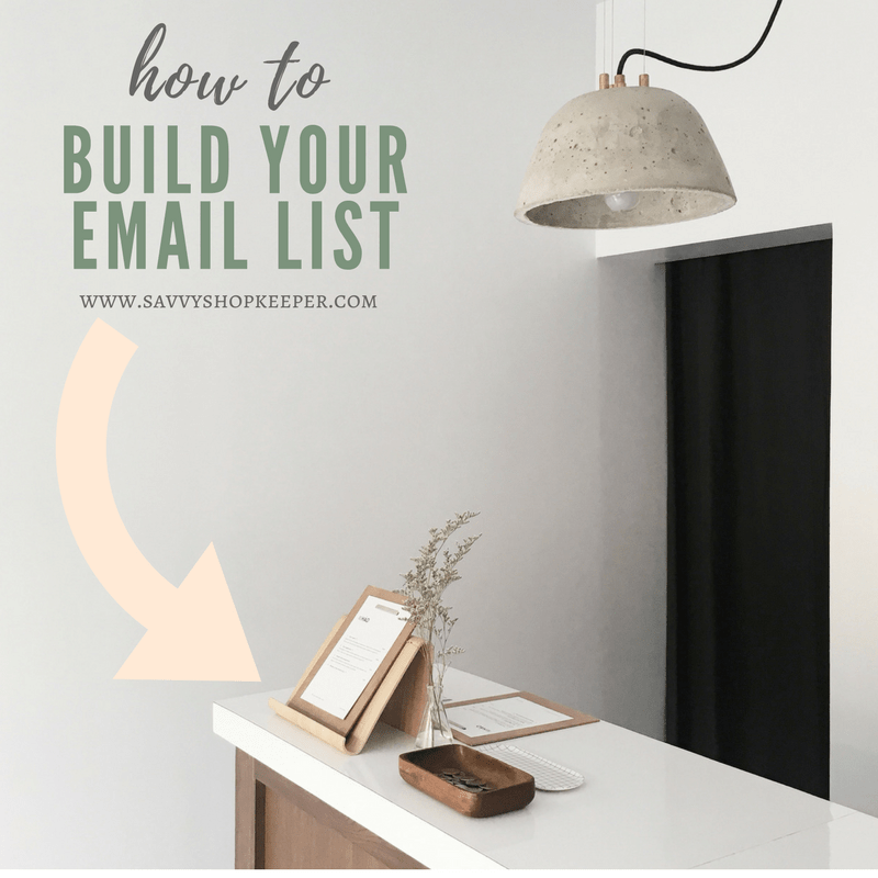 how to build your email list - square