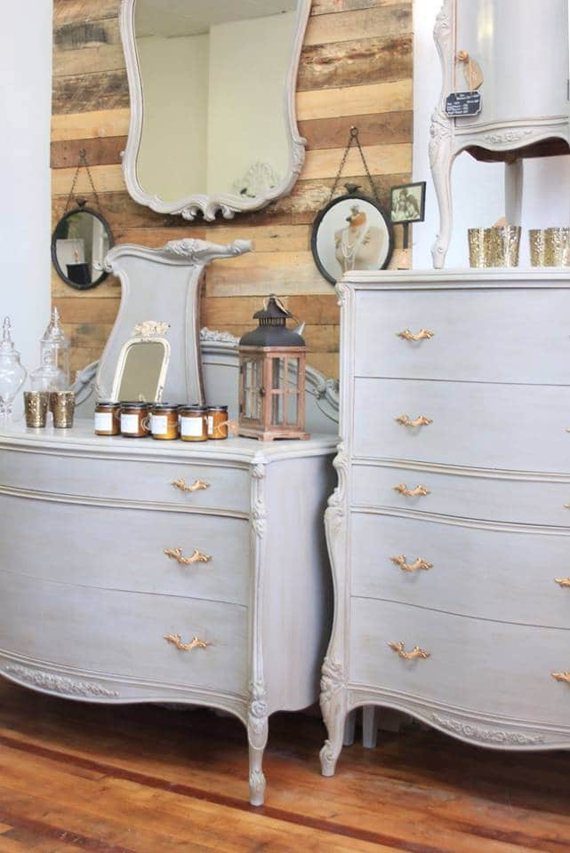 dressers & decor at The Salvaged Boutique