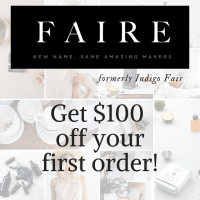 RETAILERS & MAKERS:  Get $100 in credit for a Maker referral (formerly Indigo Fair)