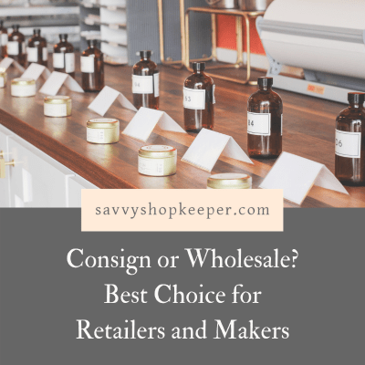 Consign or Wholesale Shopowners